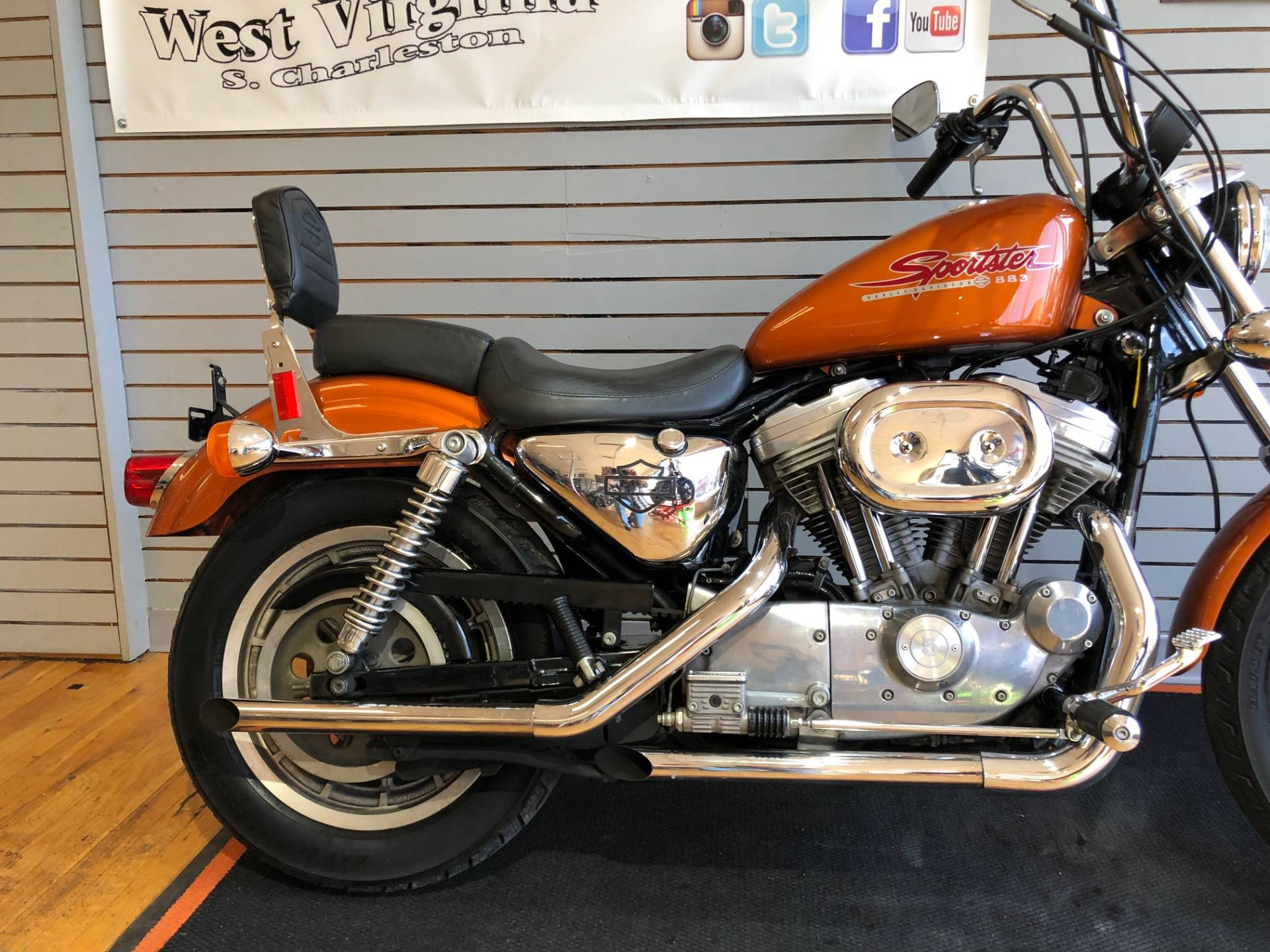 2000 Harley-Davidson XLH Sportster® 883 in South Charleston, West Virginia - Photo 3