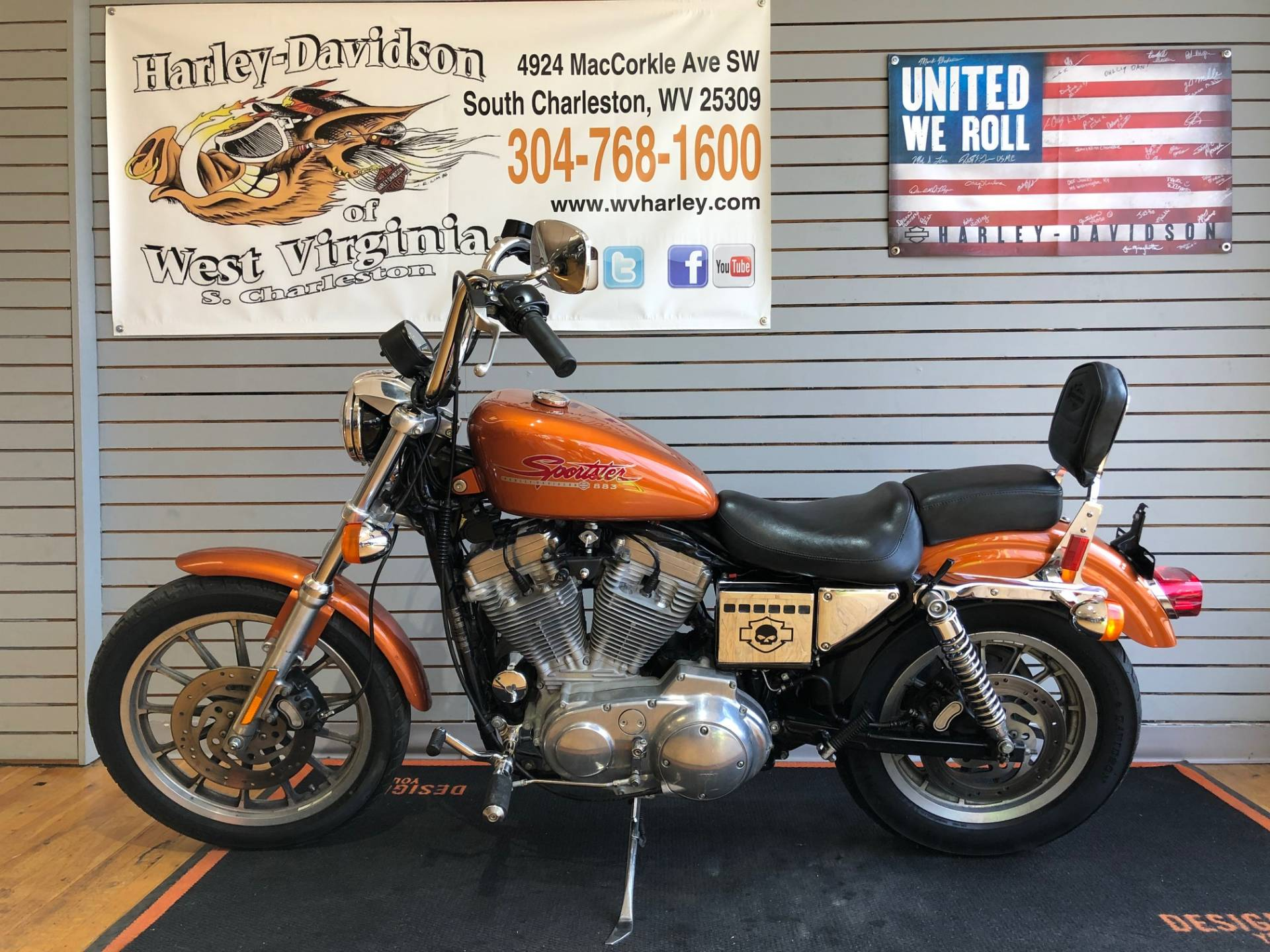 2000 Harley-Davidson XLH Sportster® 883 in South Charleston, West Virginia - Photo 4
