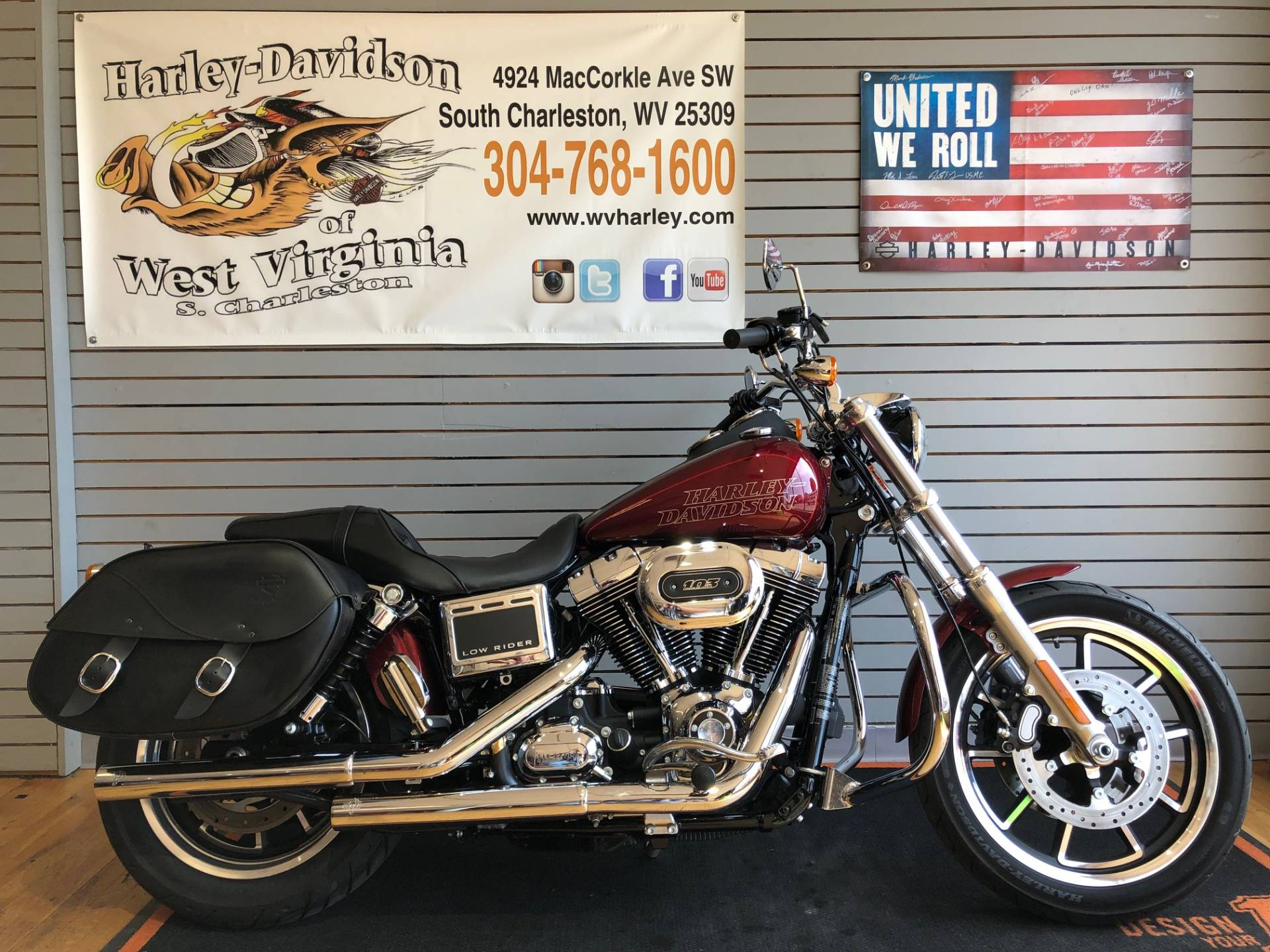 2017 Harley-Davidson Low Rider® in South Charleston, West Virginia - Photo 1