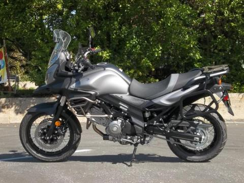 2015 Suzuki V-Strom 650 XT ABS in Grass Valley, California