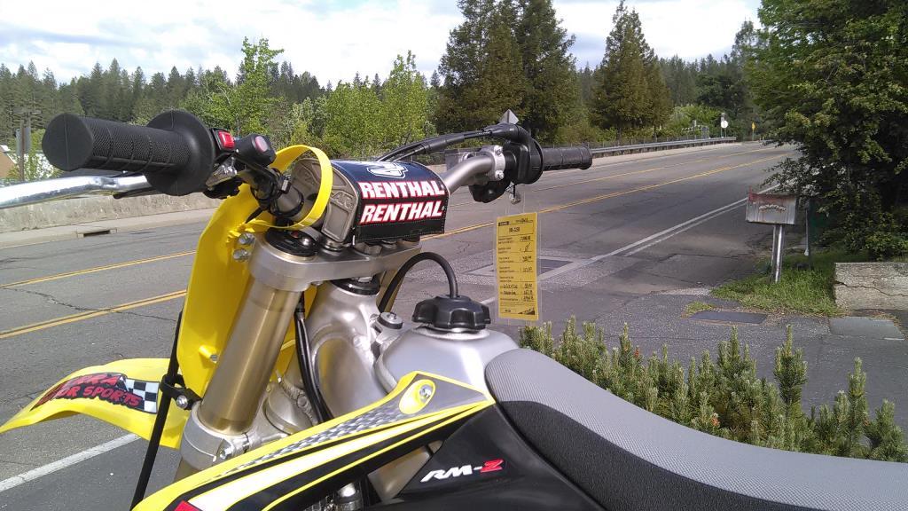 2016 Suzuki RM-Z250 in Grass Valley, California
