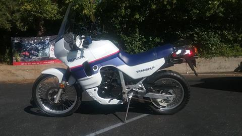 1989 Honda XL600V TRANSALP in Grass Valley, California