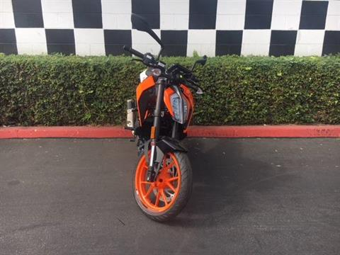 2018 KTM 390 Duke in Costa Mesa, California