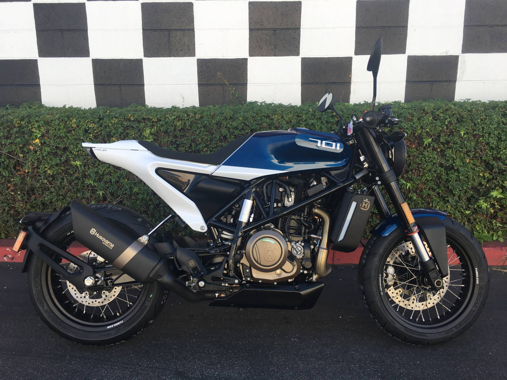 2020 Husqvarna Vitpilen 701 in Costa Mesa, California - Photo 1
