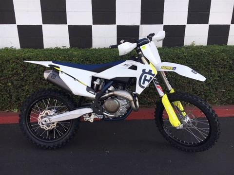 2019 Husqvarna FC 450 in Costa Mesa, California - Photo 1