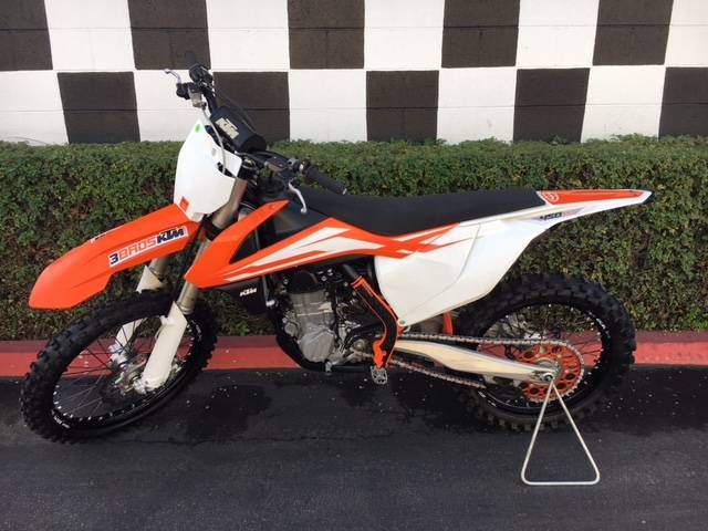 2016 KTM 450 SX-F in Costa Mesa, California