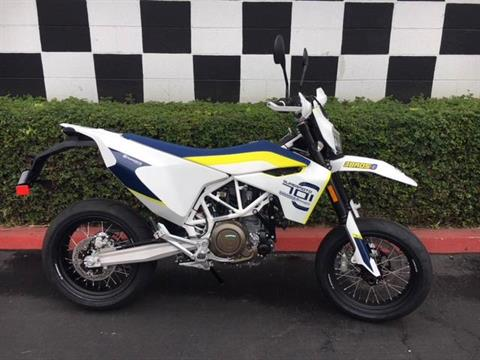 2019 Husqvarna 701 Supermoto in Costa Mesa, California