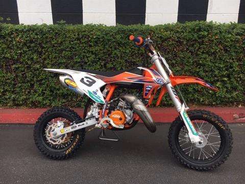2019 KTM 50 SX in Costa Mesa, California - Photo 1