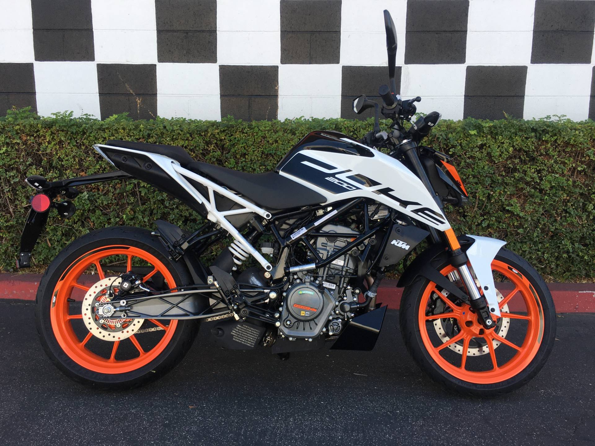2020 KTM 200 Duke in Costa Mesa, California - Photo 1