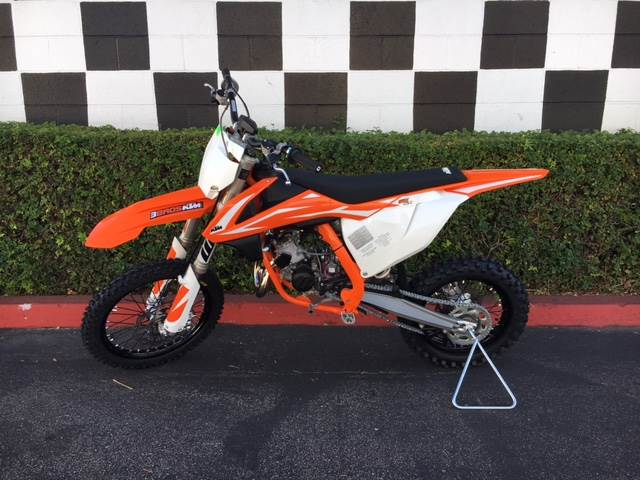 2018 KTM 85 SX 17/14 in Costa Mesa, California