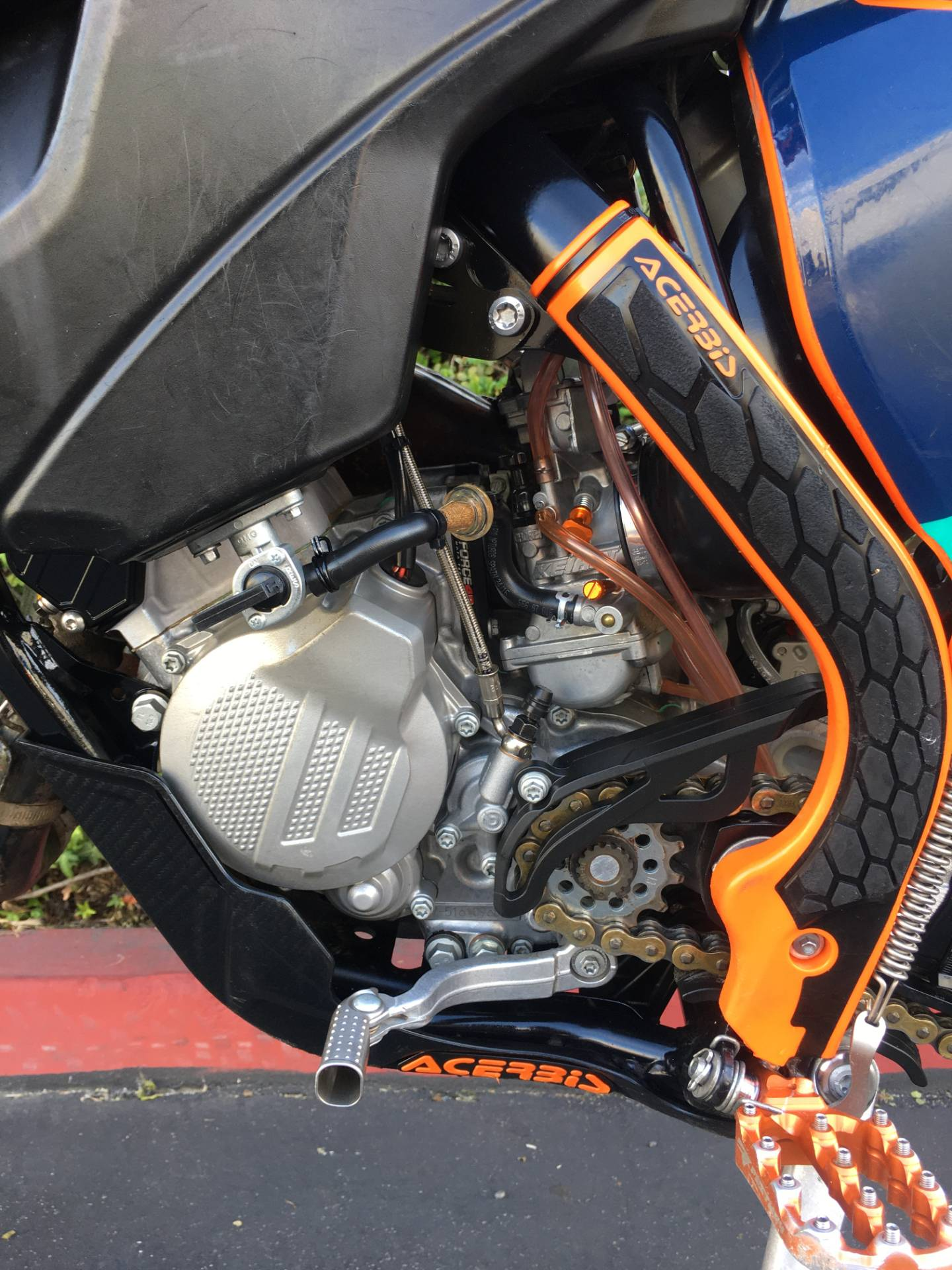 2017 KTM 150 XC-W in Costa Mesa, California - Photo 6