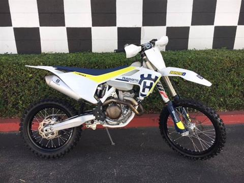 2017 Husqvarna FX 350 in Costa Mesa, California