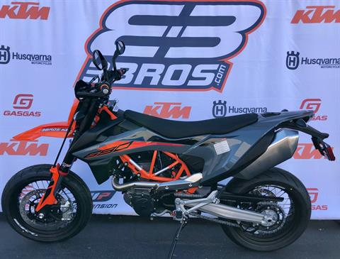 2021 KTM 690 SMC R in Costa Mesa, California - Photo 2