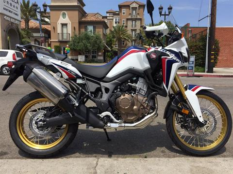 2017 Honda Africa Twin in Marina Del Rey, California