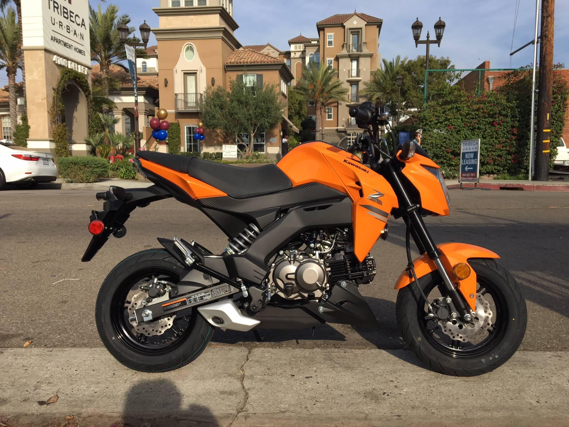 2019 Kawasaki Z125 Pro Motorcycles Marina Del Rey California