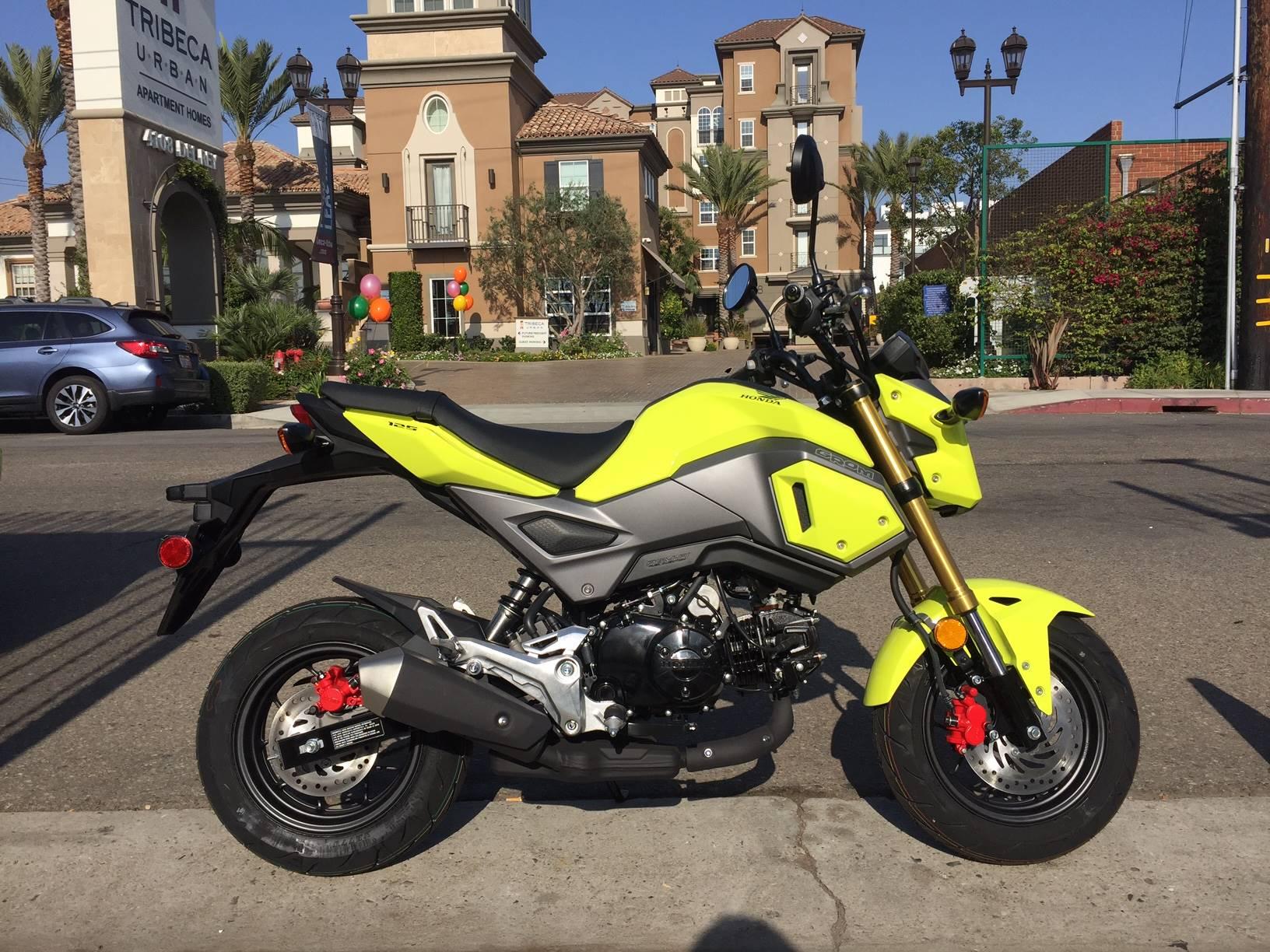 2018 Honda Grom Motorcycles Marina Del Rey California