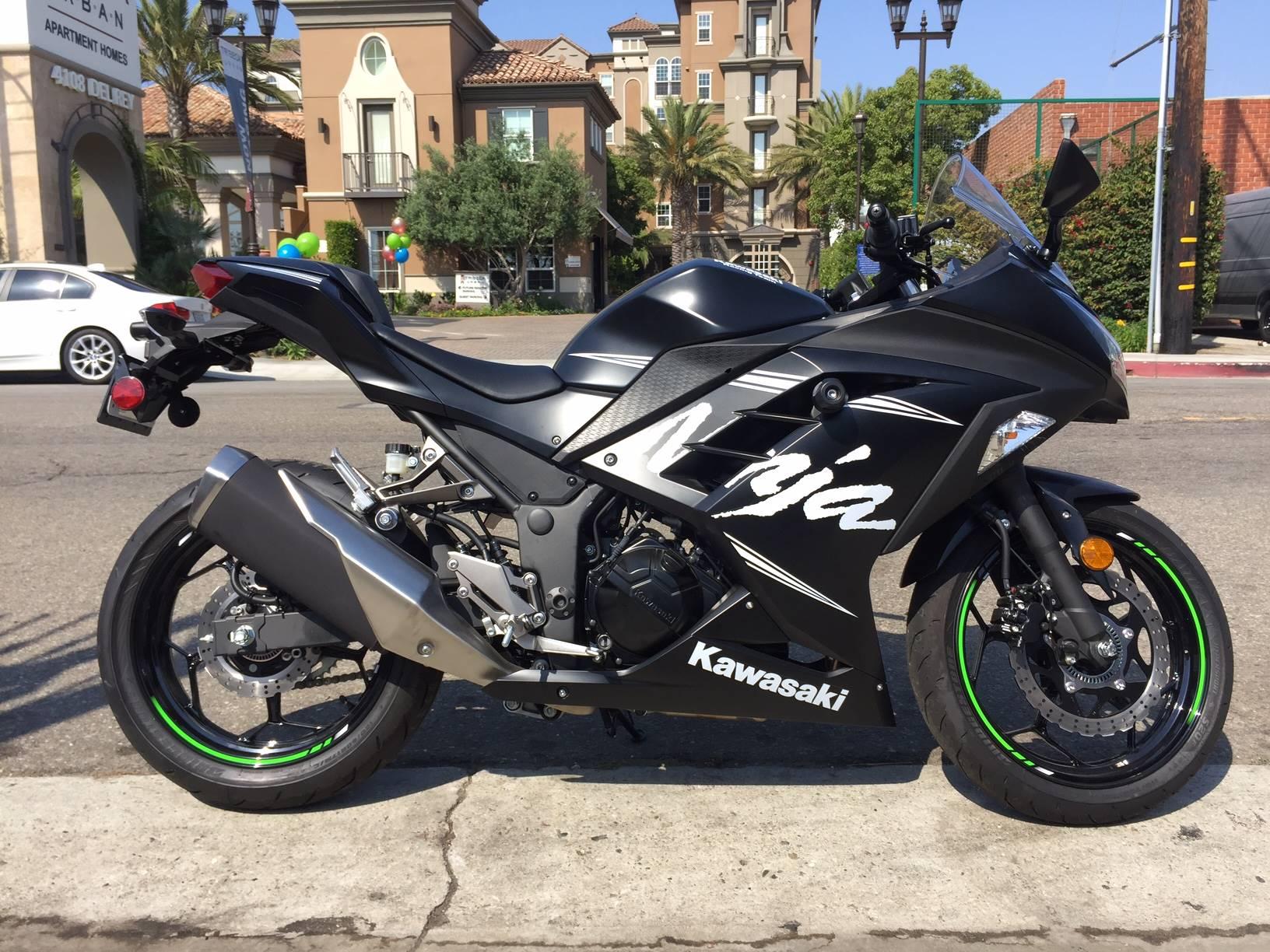 2017 Kawasaki Ninja 300 ABS Winter Test Edition for sale 5799