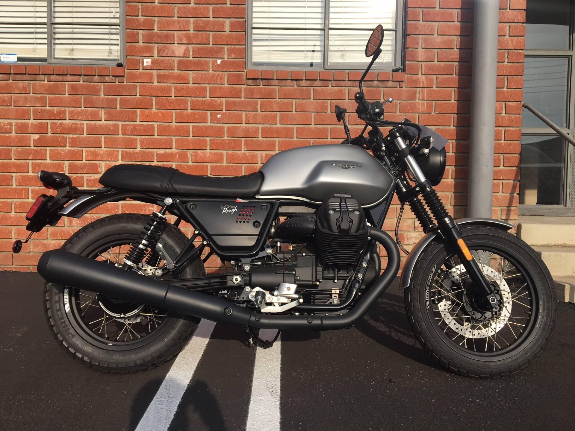2018 Moto Guzzi V7 Iii Rough Motorcycles Marina Del Rey California