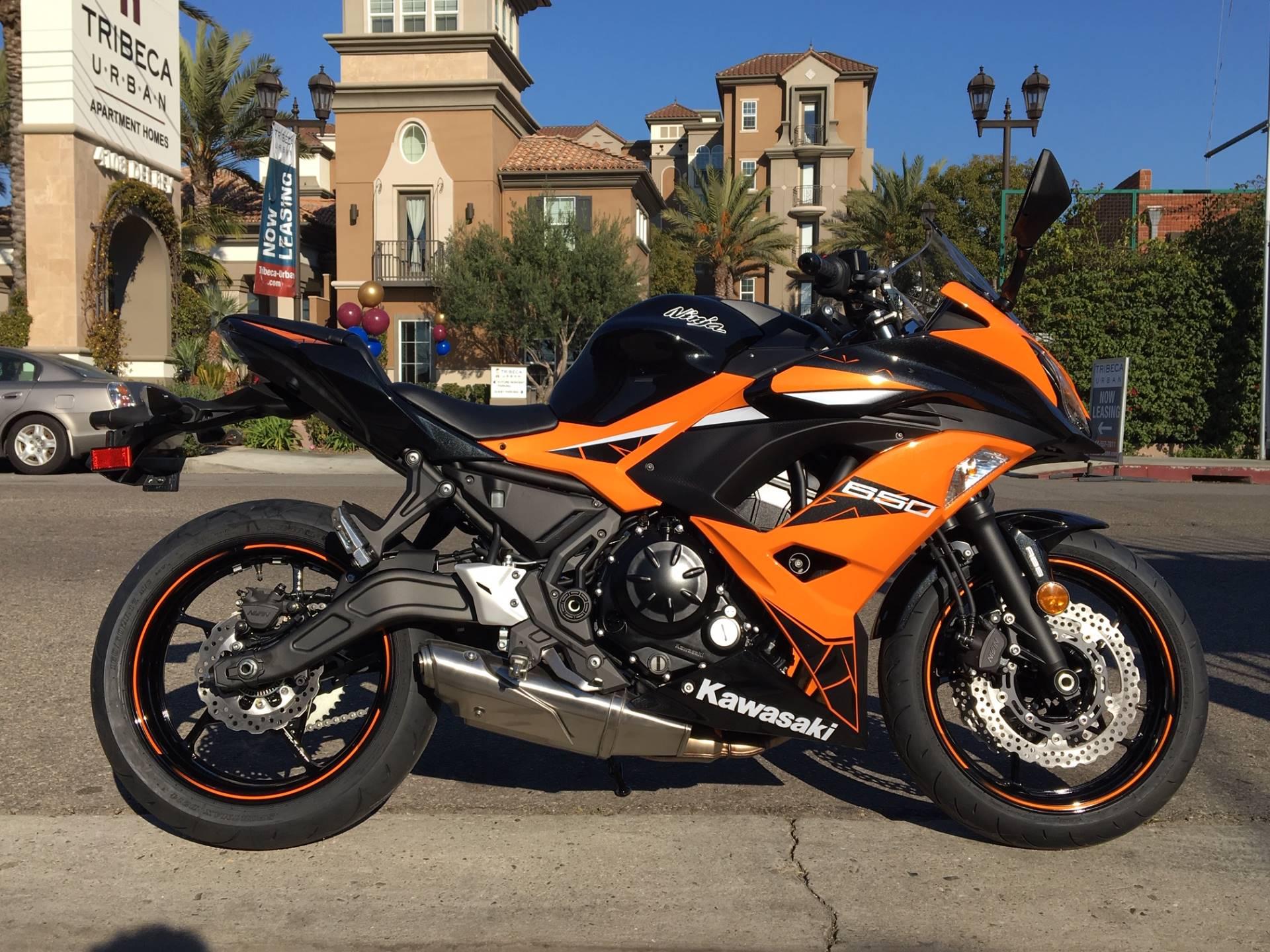2019 Kawasaki Ninja 650 Abs Motorcycles Marina Del Rey California