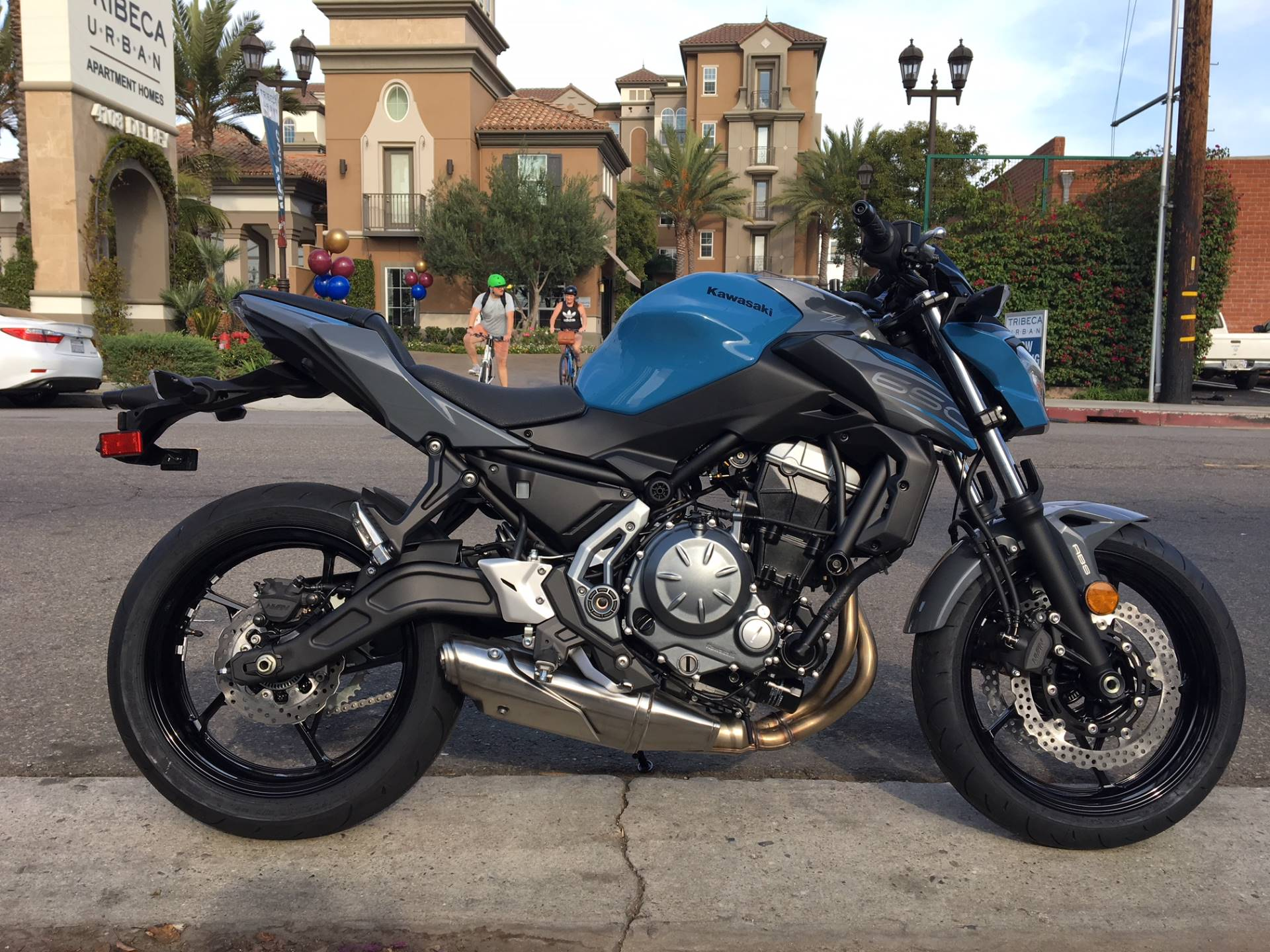 2019 Kawasaki Z650 ABS in Marina Del Rey, California - Photo 1