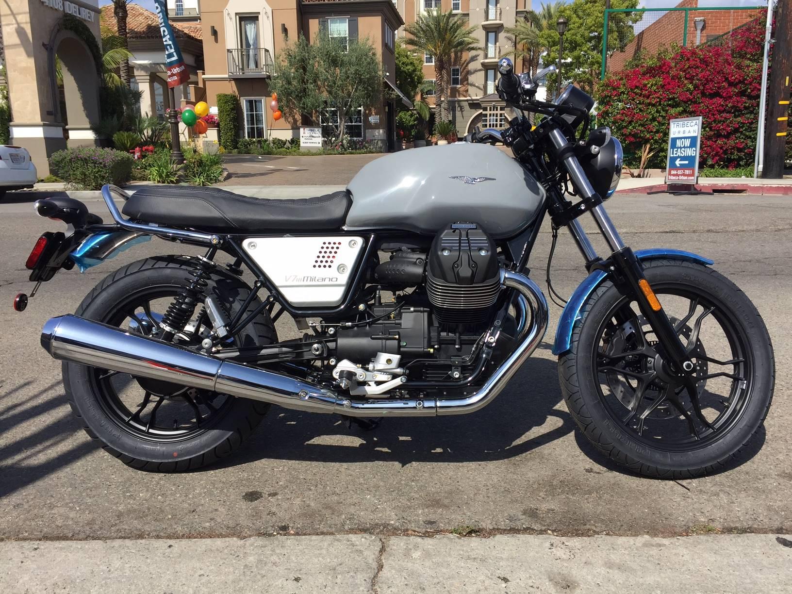 2018 Moto Guzzi V7 Iii Milano Motorcycles Marina Del Rey California