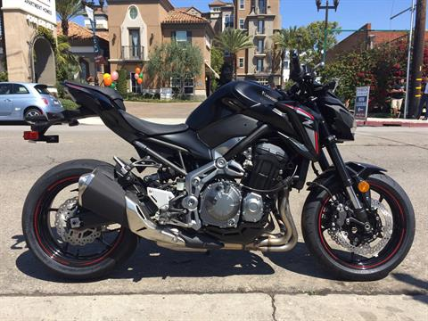 2018 Kawasaki Z900 ABS in Marina Del Rey, California