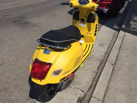 2018 Vespa GTS Super Sport 300 in Marina Del Rey, California