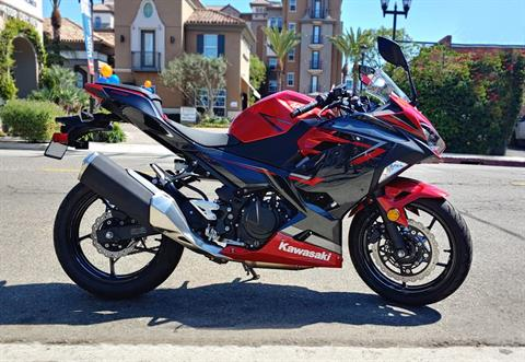 2019 Kawasaki Ninja 400 ABS in Marina Del Rey, California - Photo 1
