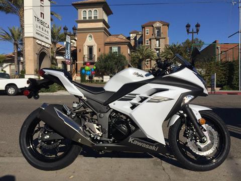 2017 Kawasaki Ninja 300 ABS in Marina Del Rey, California