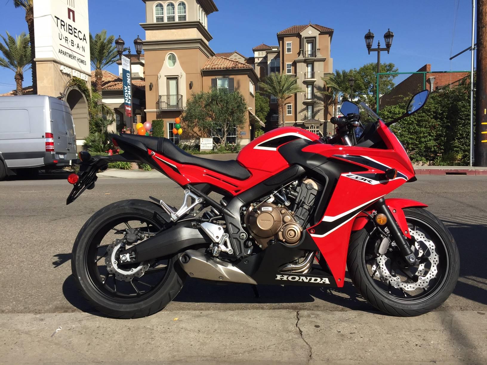 2018 honda cbr650f motorcycles marina del rey ca at geebo for Honda marina del rey