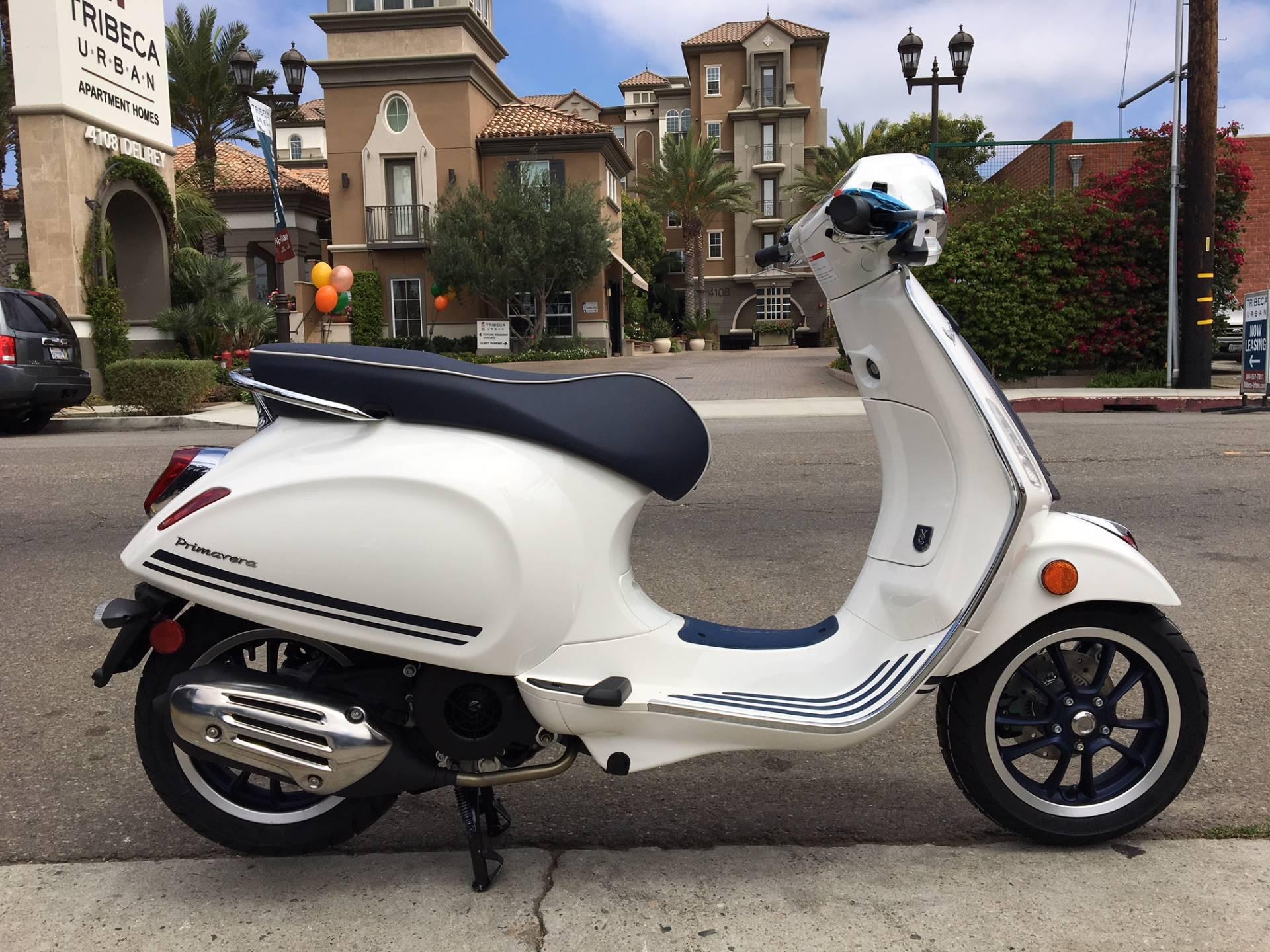 2019 Vespa Primavera 150 Yacht Club Scooters Marina Del Rey California