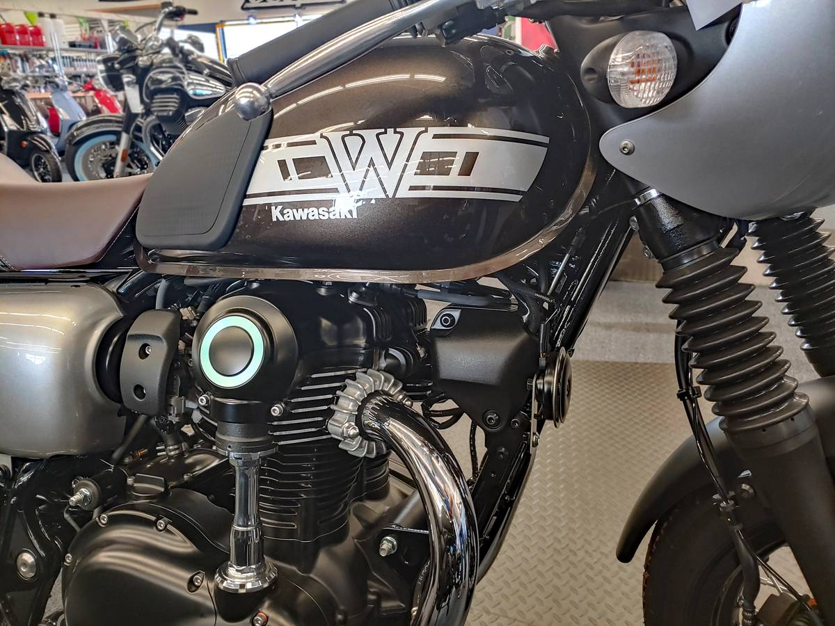 2019 Kawasaki W800 CAFE in Marina Del Rey, California - Photo 1