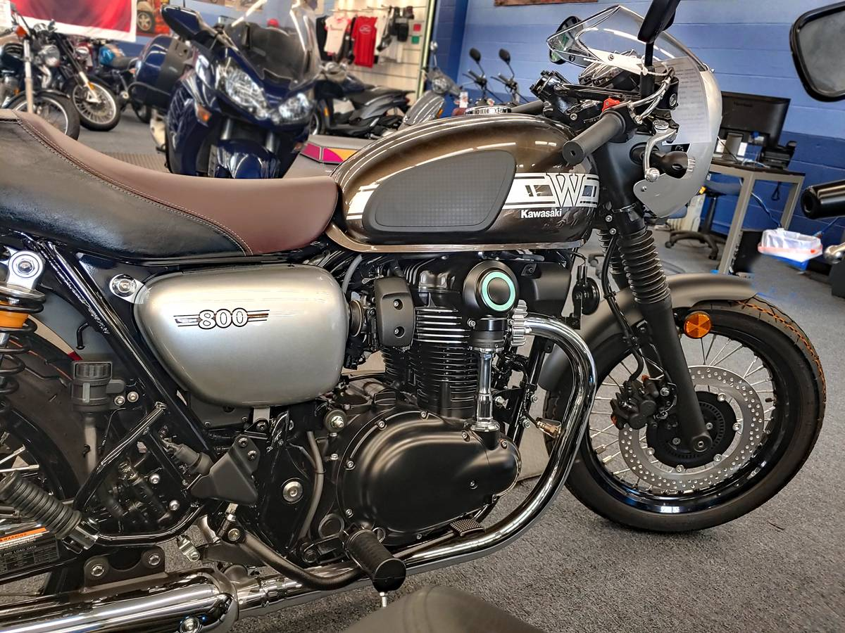 2019 Kawasaki W800 CAFE in Marina Del Rey, California - Photo 2