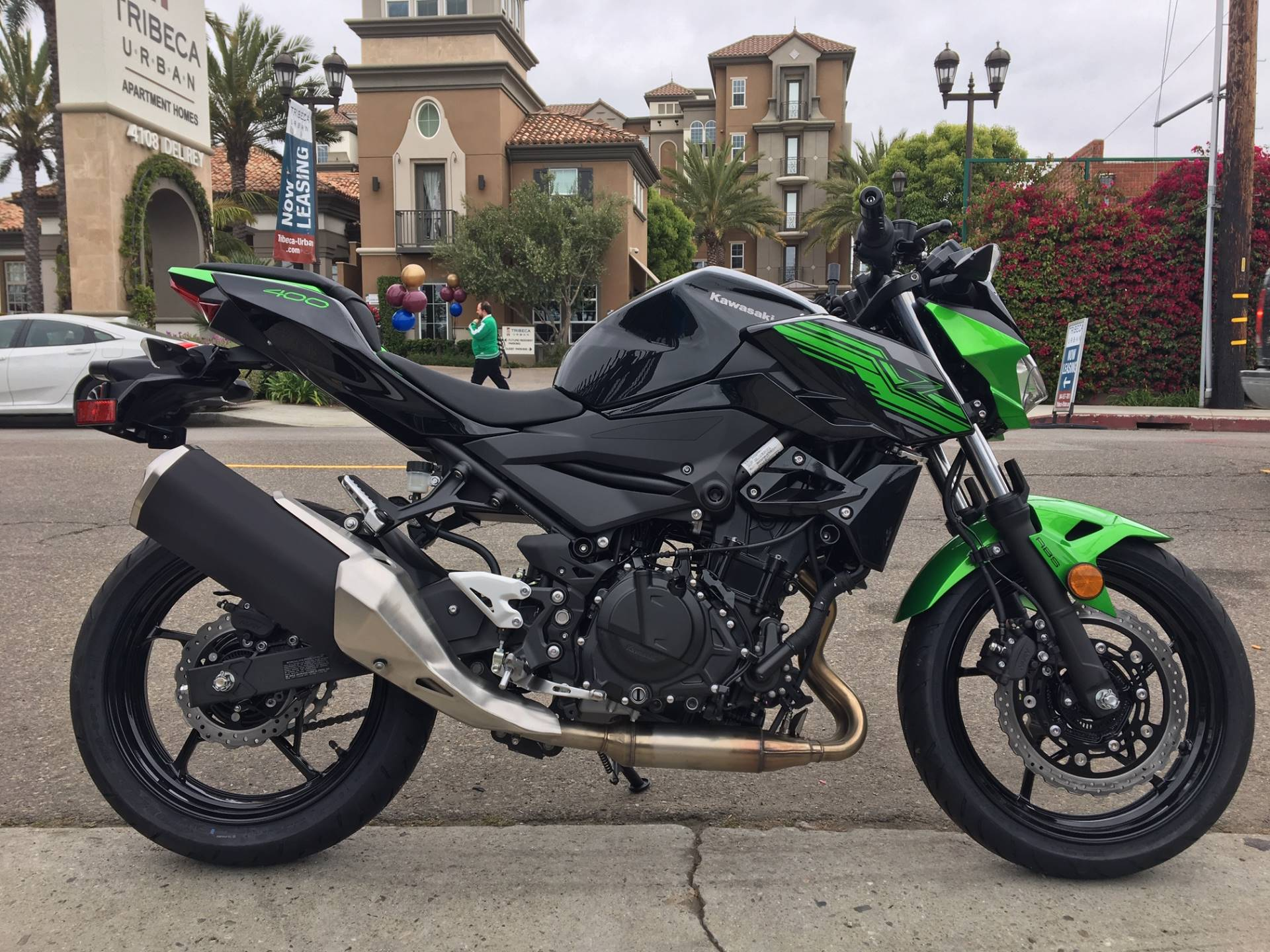 2019 Kawasaki Z400 ABS in Marina Del Rey, California - Photo 1