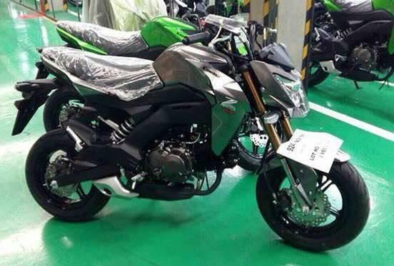 2017 Kawasaki Z125 Pro 2