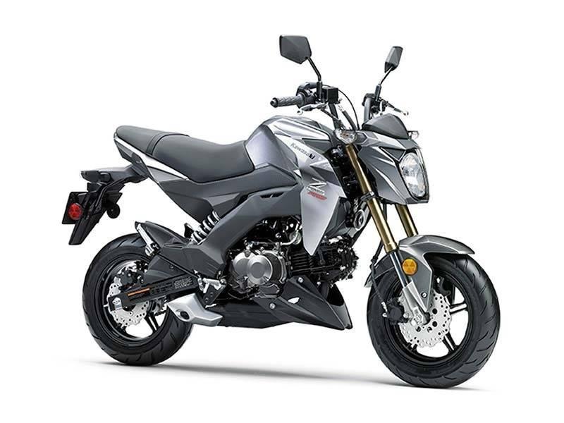 2017 Kawasaki Z125 Pro 6