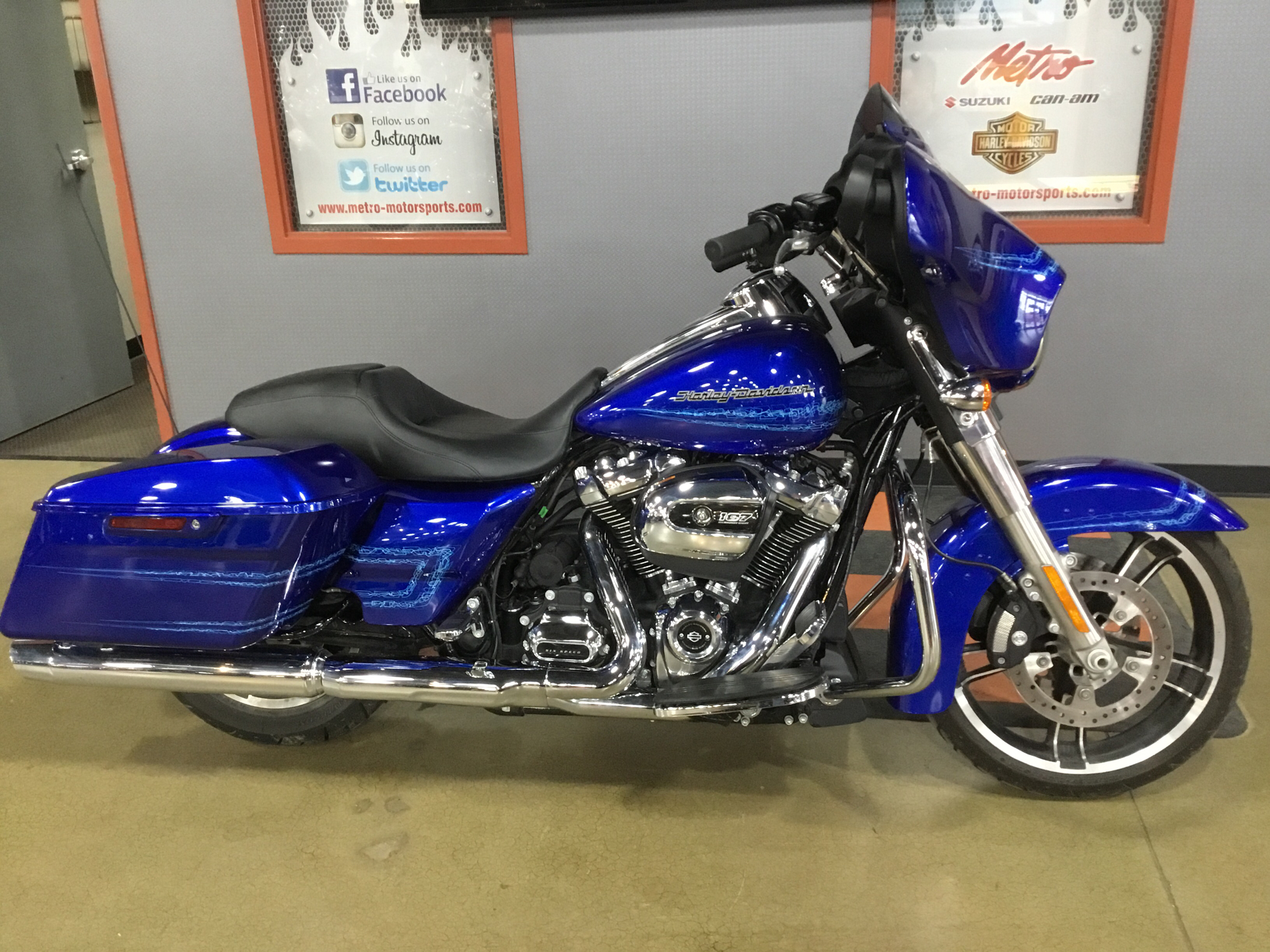 2019 Harley-Davidson Street Glide® in Cedar Rapids, Iowa - Photo 1