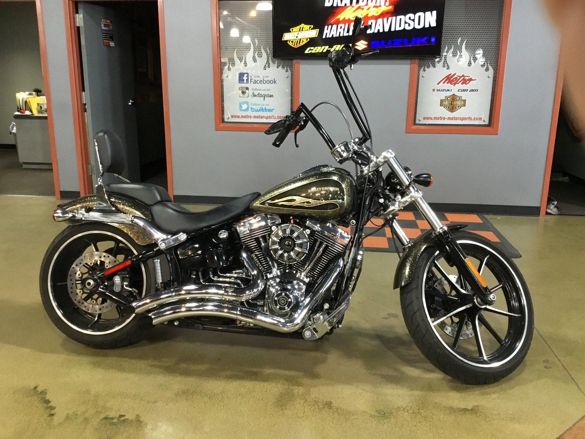 2016 Harley-Davidson Breakout® in Cedar Rapids, Iowa - Photo 1