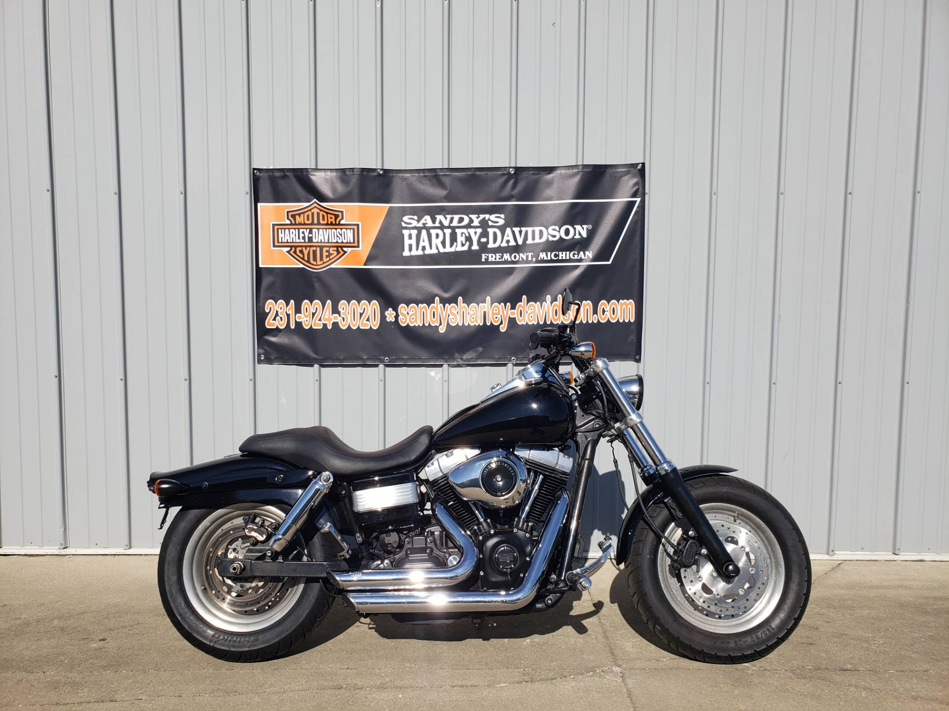2013 Harley-Davidson Dyna® Fat Bob® in Fremont, Michigan - Photo 1