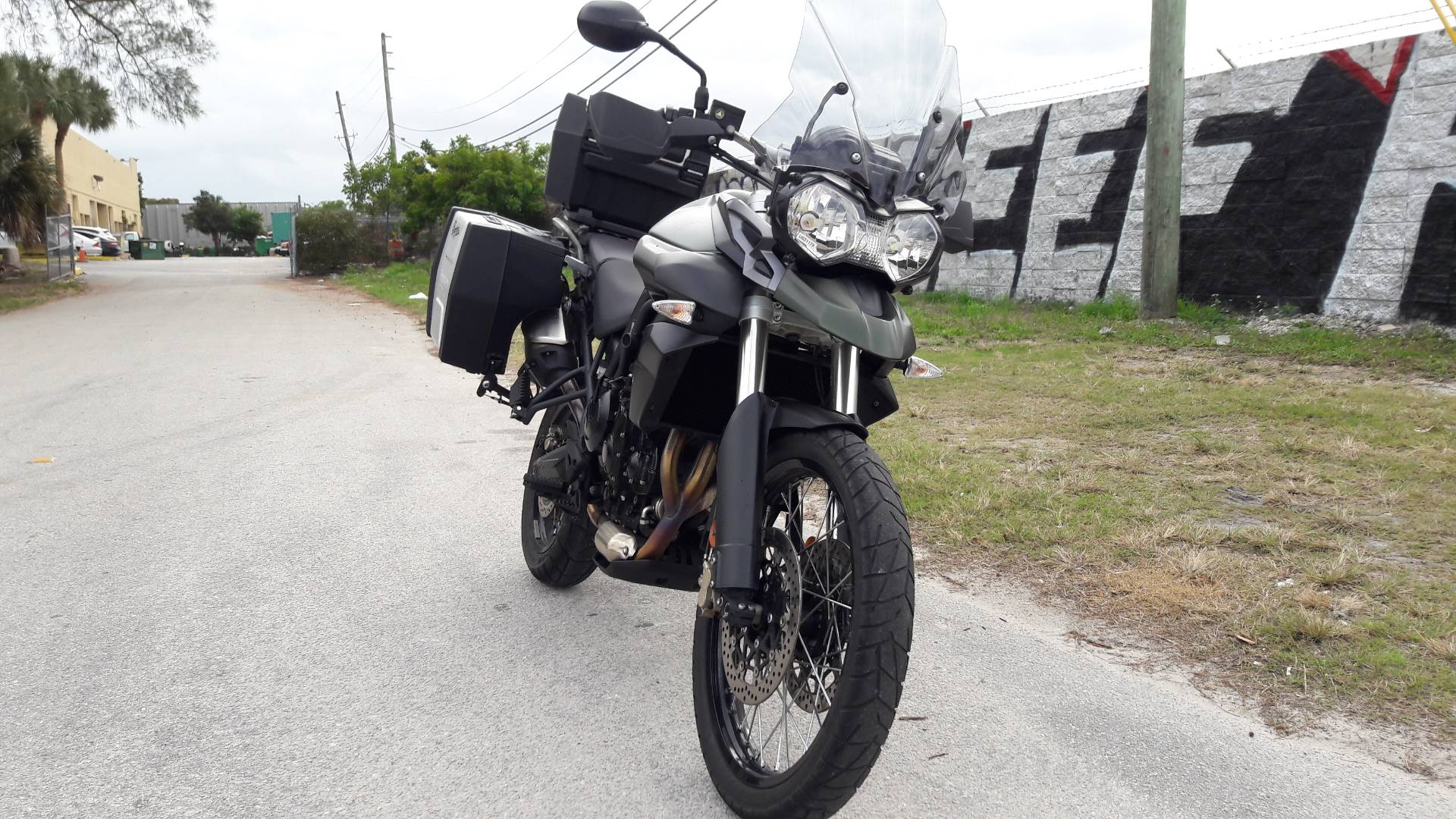 2014 Tiger 800 XC ABS
