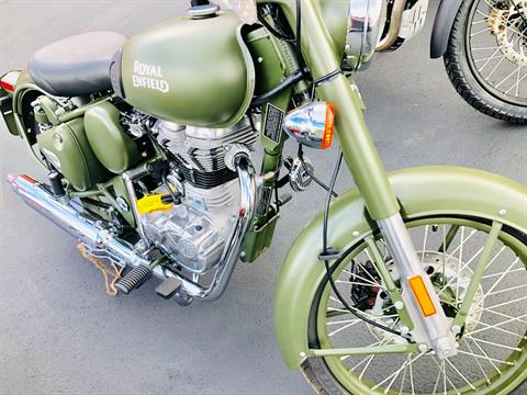 2019 Royal Enfield Classic Military ABS in Burlington, Washington - Photo 11