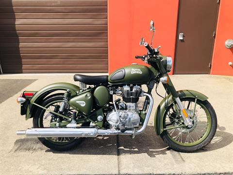2019 Royal Enfield Classic Military ABS in Burlington, Washington - Photo 1