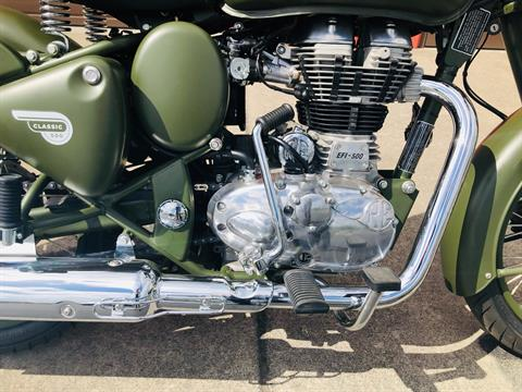 2019 Royal Enfield Classic Military ABS in Burlington, Washington - Photo 2