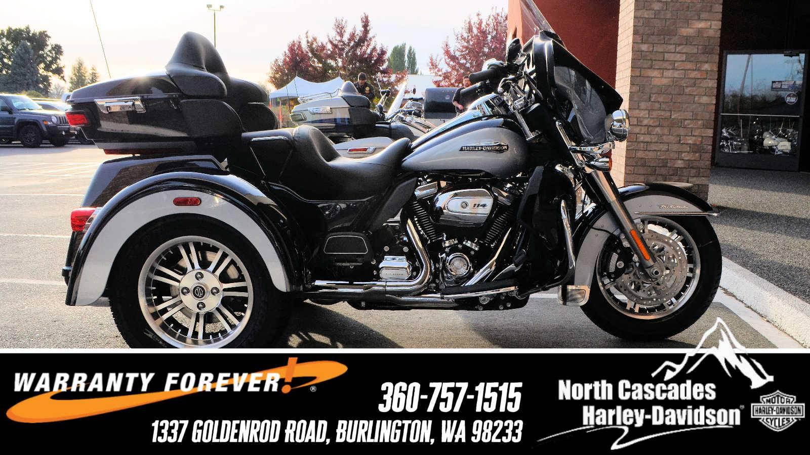 2019 Harley-Davidson Tri Glide® Ultra in Burlington, Washington