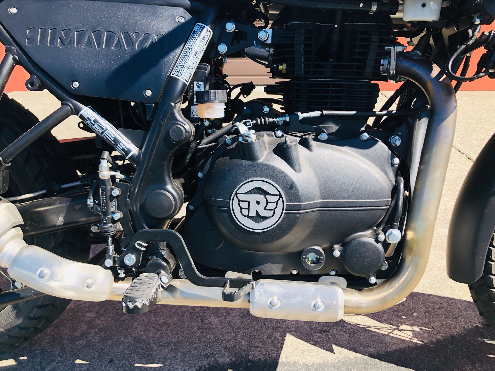 2019 Royal Enfield Himalayan 411 EFI in Burlington, Washington - Photo 2