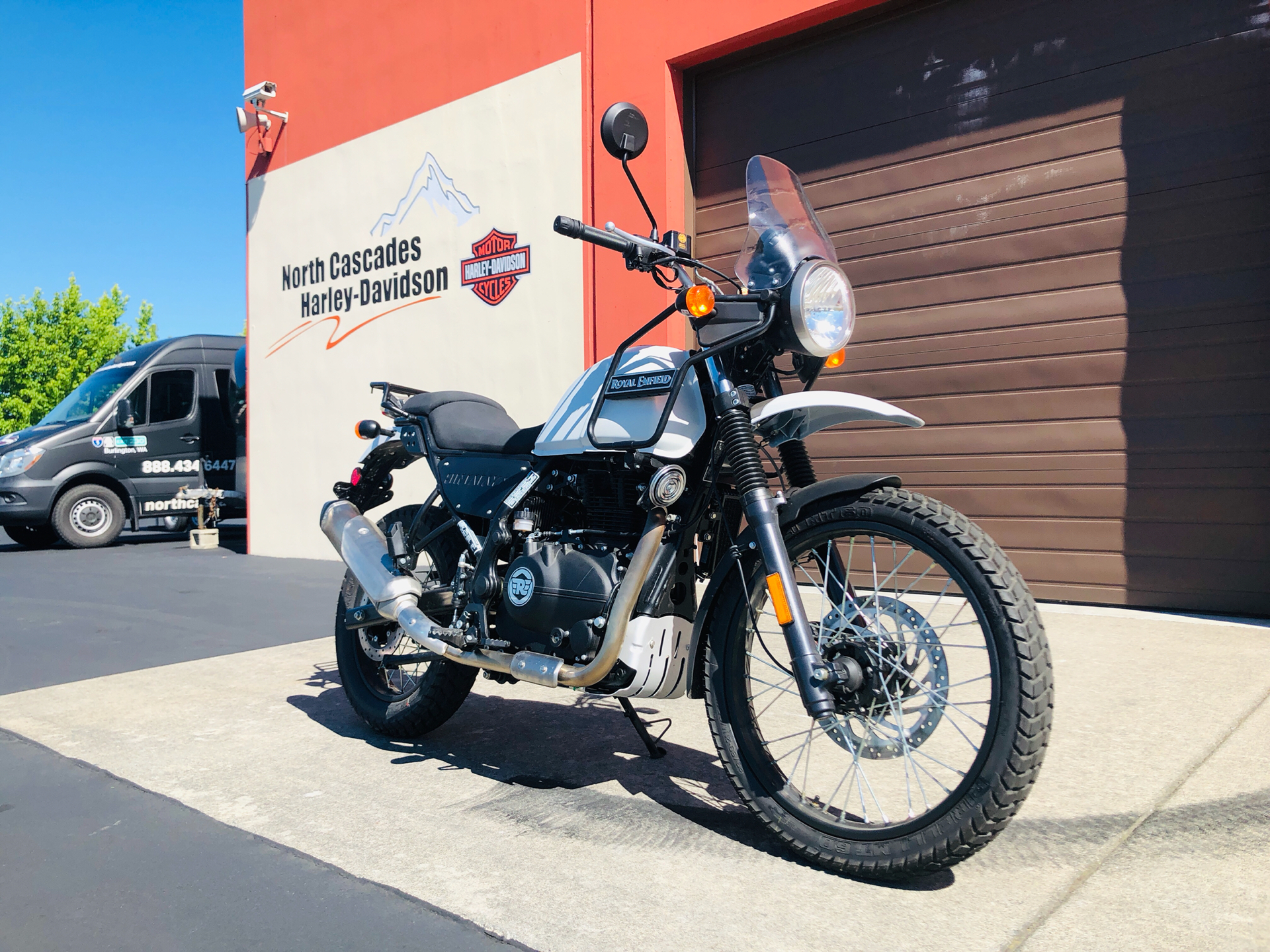 2019 Royal Enfield Himalayan 411 EFI in Burlington, Washington - Photo 3