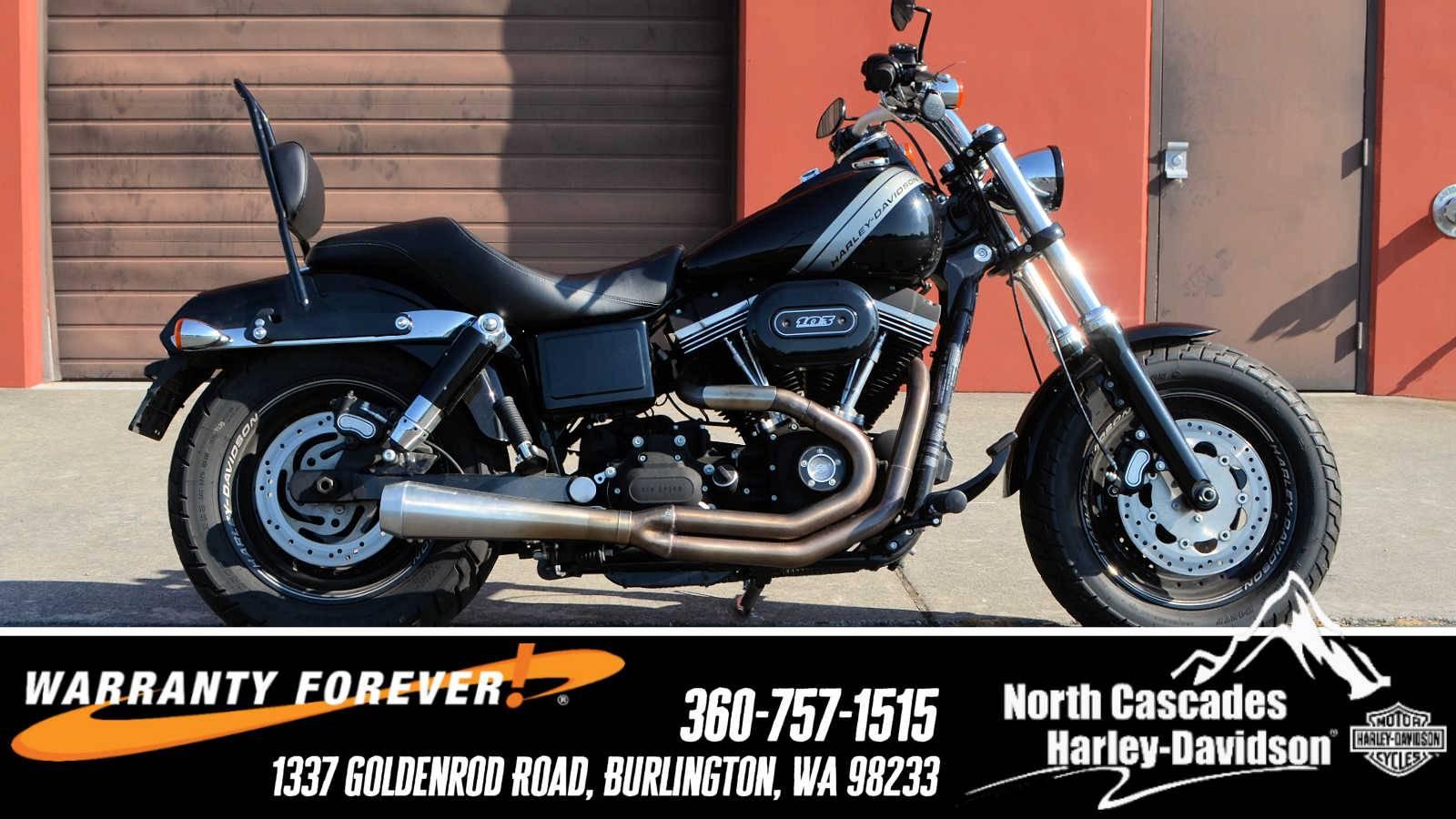 2016 Harley Davidson Fat Bob In Burlington Washington