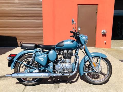 2018 Royal Enfield Classic Military ABS in Burlington, Washington - Photo 1