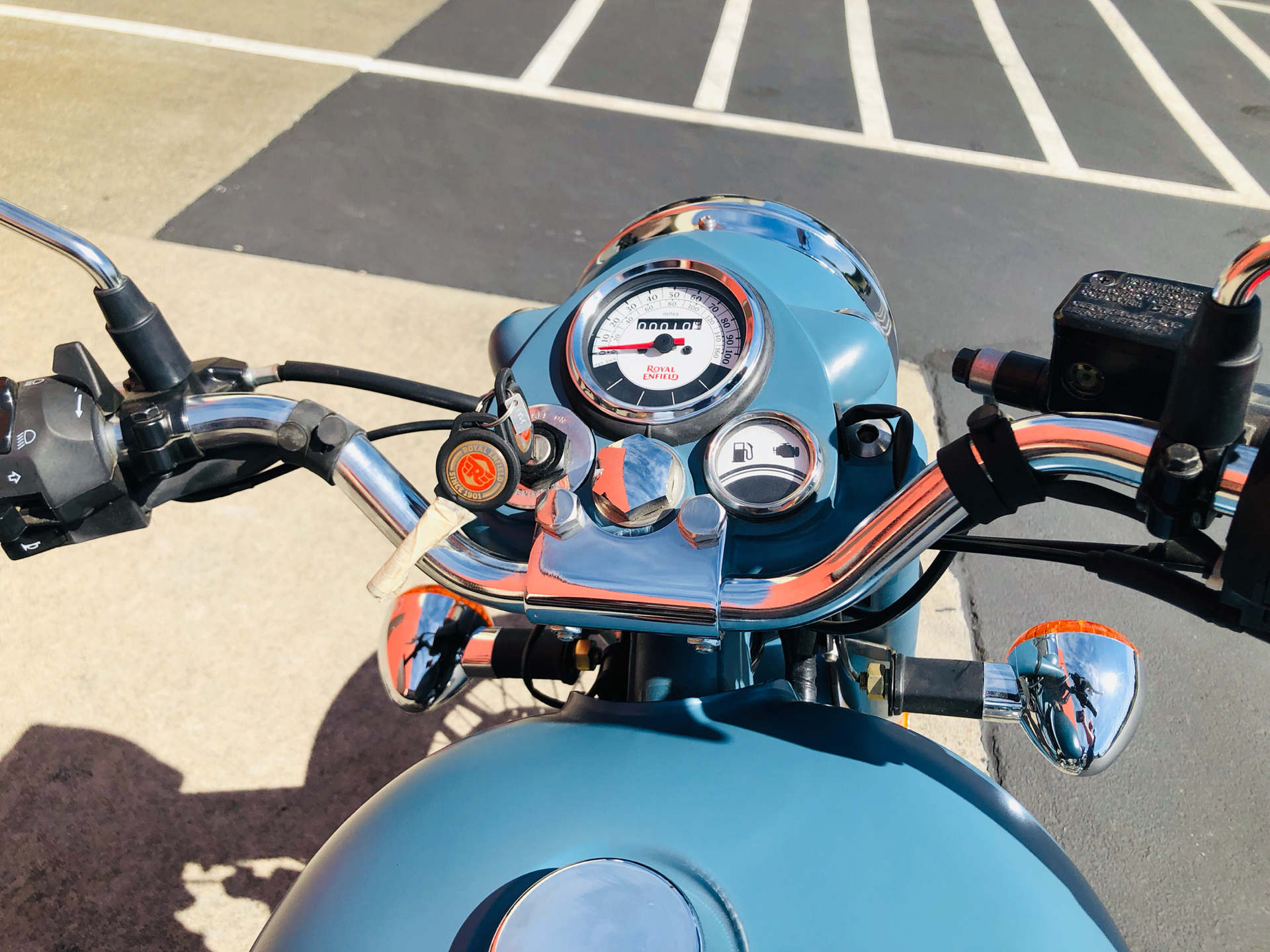 2018 Royal Enfield Classic Military ABS in Burlington, Washington - Photo 9