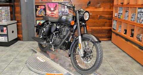 2018 Royal Enfield Classic Stealth Black ABS in Burlington, Washington